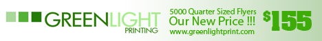 Greenlight Printing : The #1 Source for Flyers & Printing